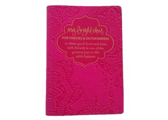 On Demand Self Publishing Printing For PU Cover Note Book Embossing Finishing