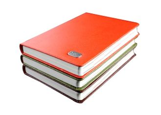 Hardcover Custom Notebook Printing Services Uncoated Wood Free Paper Material