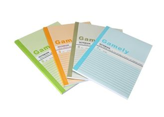 Perfect Bound Student Book Printing , Diary Book Printing Gloss Lamination