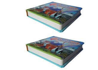 Thick Paper Board Book Printing Spot UV Finishing CMYK Full Color