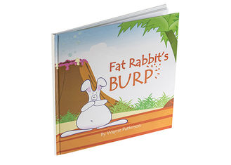 Fat Rabbit Book Printing, Children Book Printing for Australia Publishing