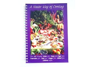 Personalised Softcover Book Printing Wire Bound Binding For Cook Book Publishing