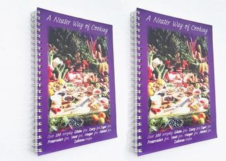Spiral Binding Paperback Softcover Book Printing 40gsm - 350gsm Paper Weight