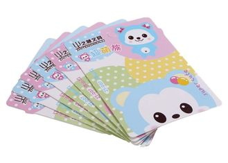 Irregular Shape Paper Card Printing Holiday Card Printing Services Eco Friendly