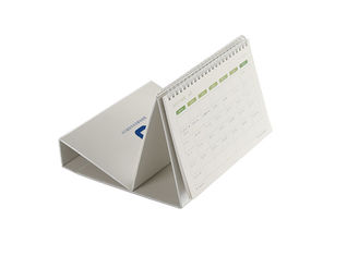 Perfect Binding Business Calendar Printing Services Coated 300gsm Card Material