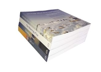 Perfect Binding Paper Book Printing For Life Culturel Book Publishing