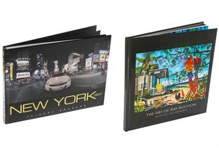 Thick Foreign Art Book Printing Services Coated Gloss Paper Material