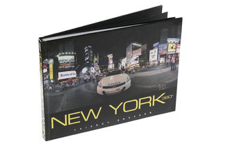 Matt Varnishing Hardcover Photo Book Printing For City Tourism Book Publishing