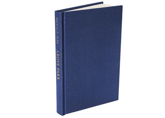 Black On White Color Cloth Cover Book Printing , Hardback Book Printing OEM Available