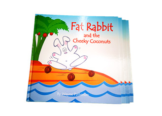 Hard Cover Book Printing, Case Bound Book Printing, Hardback Book Printing, Fat Rabbit Book Printing