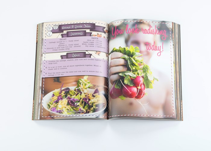 cook book pritning service, soft cover book printing service